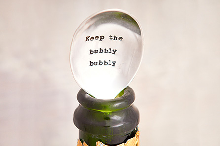 Keep The Bubbly Bubbly - Champagne Stopper