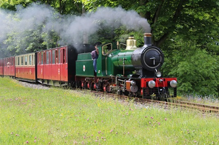 Kirklees Light Railway Steam Experience and Afternoon Tea for Two