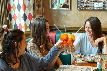 Laid Back 'La Famiglia' Sunday Brunch with Unlimited Bellinis for Two at Bunga Bunga, Battersea