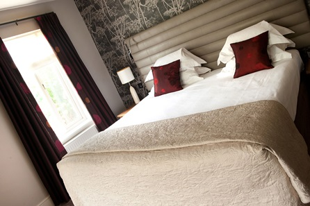 One Night Boutique Suite Escape for Two at Jesmond Dene House