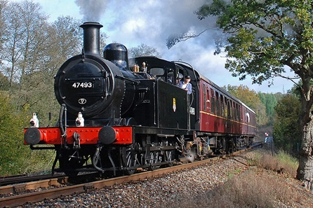 One Night Break with Dinner and Steam Train Trip on the Spa Valley Railway for Two