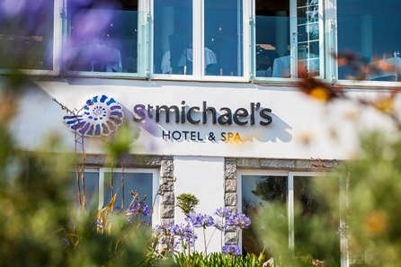 One Night Cornish Coast Escape for Two at the St Michael's Hotel & Spa, Falmouth