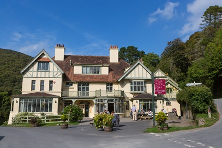 One Night Exmoor National Park Break with Dinner for Two at The Hunter's Inn