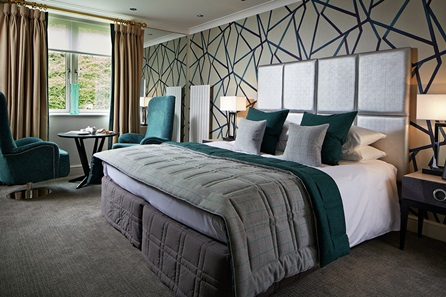 One Night Indulgent Hotel Break for Two at Rowhill Grange