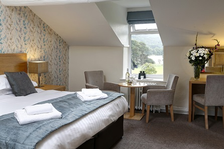One Night Lake District Break for Two at the Waterhead Hotel, Coniston