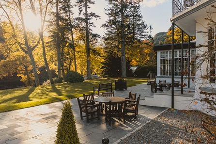 One Night Scottish Spa Break for Two at Dunkeld House Hotel