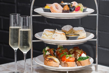 Peruvian and Italian Inspired Prosecco Afternoon Tea for Two at Monmouth Kitchen, Covent Garden