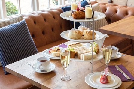 Prosecco Afternoon Tea for Two at The Beaulieu Hotel