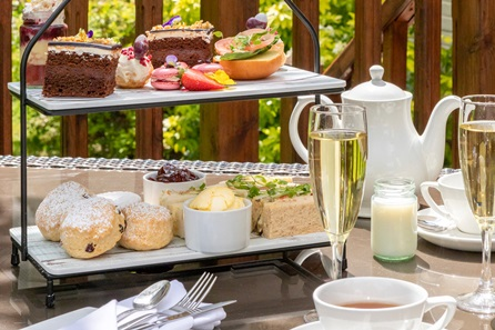 Prosecco Afternoon Tea for Two at the Forest Lodge Hotel
