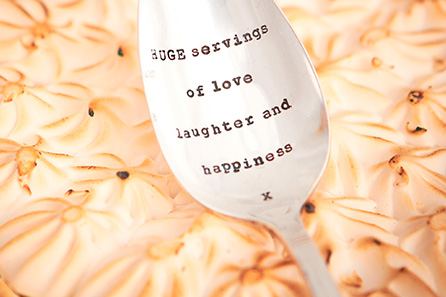 Serving Spoon – Huge Servings of Love, Laughter and Happiness