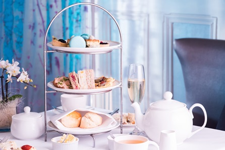 Spa Day with Treatment and Afternoon Tea for Two at the Luxury 5* Alexander House Hotel
