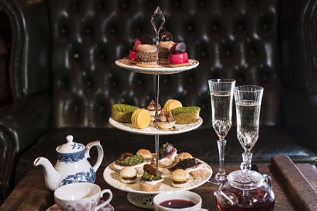 Tapas Style Afternoon Tea with Champagne for Two at MAP Maison