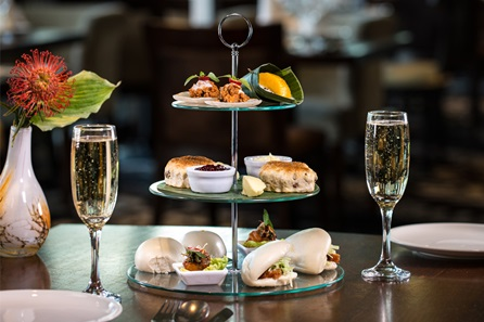 Thai Afternoon Tea with Prosecco for Two at Chaophraya