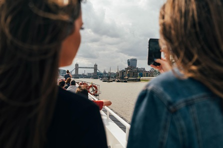 Thames Cruise Sightseeing River Red Rover Ticket for Two