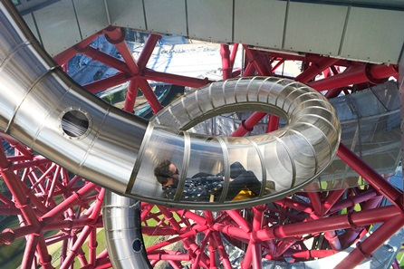 Skyline Views and The Slide at The ArcelorMittal Orbit and London Stadium Tour for Two