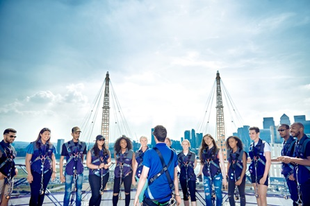 The View from the Shard and Up at The O2 Climb for Two