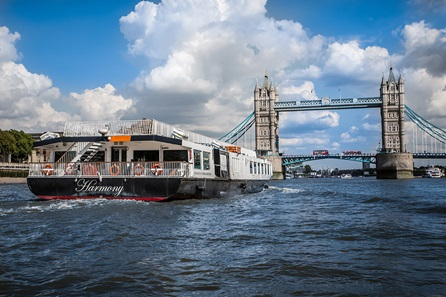 The View From the Shard and Classic Lunch Cruise with Bateaux London for Two