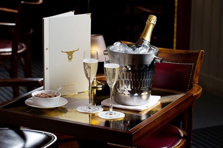 Three Course Champagne Celebration Dining at Marco Pierre White's London Steakhouse Co. for Two with a Set of Steak Knives