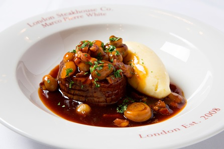 Three Course Dining Experience with Sides and Cocktail for Two at a Marco Pierre White's London Steakhouse Co