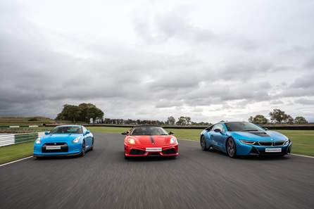 Triple Supercar Thrill - Weekday