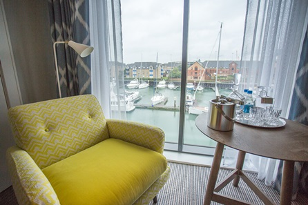Two Night Coastal Escape for Two at Southampton Harbour Hotel