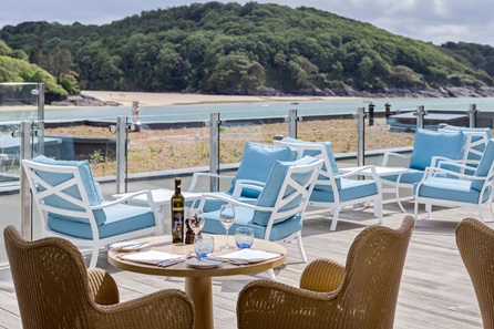 Two Night Coastal Escape with Dinner for Two at Salcombe Harbour Hotel & Spa
