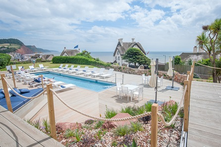 Two Night Coastal Escape with Dinner for Two at Sidmouth Harbour Hotel