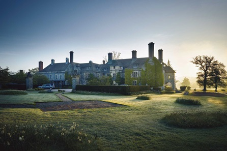 Two Night Wye Valley Break with Dinner for Two at Llangoed Hall