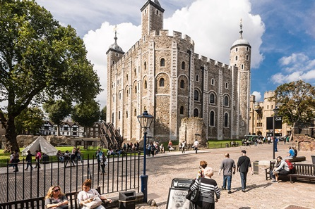 Visit the Tower of London and Three Course Meal with Wine at Brasserie Blanc for Two