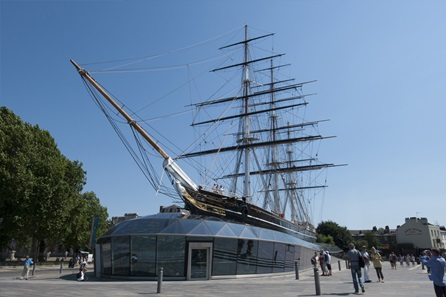 Visit to Cutty Sark and Royal Observatory with Three Course Meal and Wine at Bill's Restaurant for Two