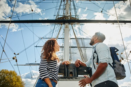 Visit to the Cutty Sark for Two Adults
