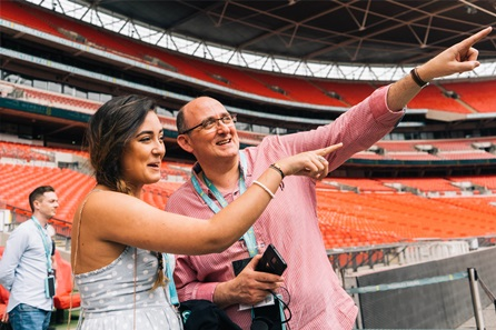 Wembley Stadium Tour with Meal for Two