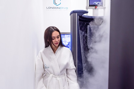 Whole Body Cryotherapy Session at LondonCryo