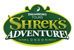 Family Shrek's Adventure! London and Two Course Meal at Pizza Express