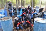 Family Low Impact Paintball Adventure for Four