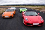 Four Supercar Thrill at Top UK Race Tracks