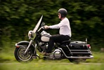 Full Day Ride Out on a Genuine USA Police Harley-Davidson