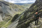 Lake District High Wire Cable Cliff Edge Adventure