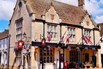 One Night Cotswolds Inn Break with Dinner for Two at The Snooty Fox