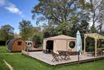 One Night Glamping Break for Two at Back-Of-Beyond, Dorset