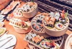 Sunday Feast Bento Lunch with Free-Flowing Fizz for Two at Issho