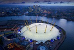 Up at The O2 Climb with Champagne for Two