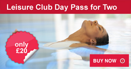 Leisure Club Day Pass for Two
